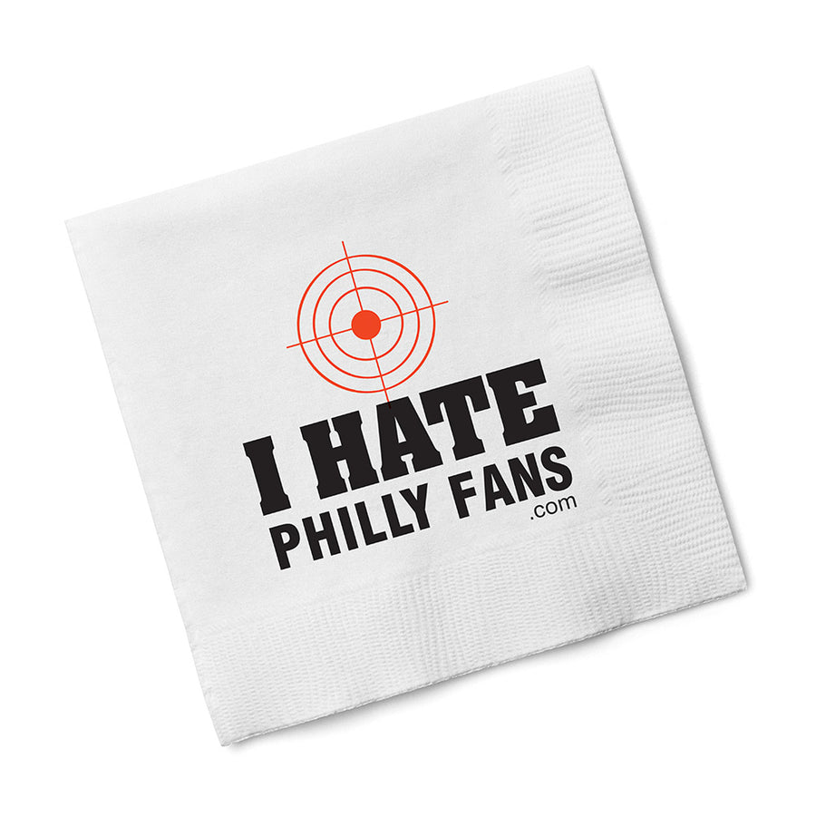 I Hate Philly Fans Napkins
