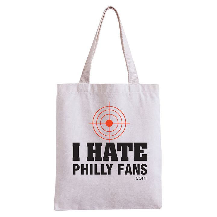 I Hate Philly Fans Tote Bag