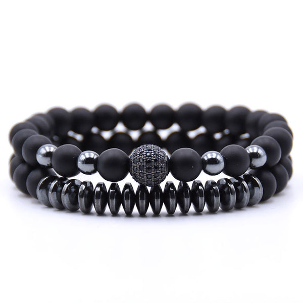 Bracelet Set Black Stream
