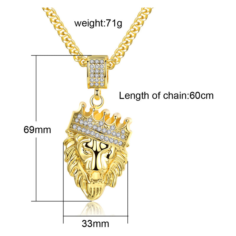 Necklace King Ice Lion