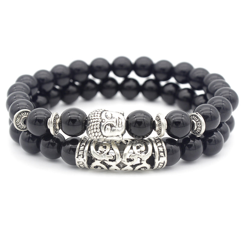 Bracelet Set Buddha Black