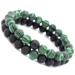 Bracelet Set Green Flow
