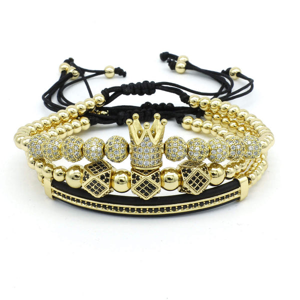 Bracelet Set Luxury Gold