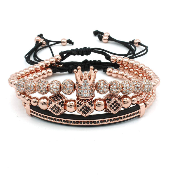 Bracelet Set Luxury Rose