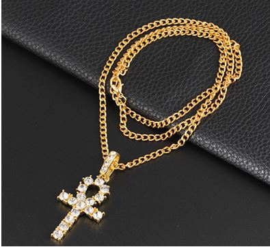 Necklace Golden Cross