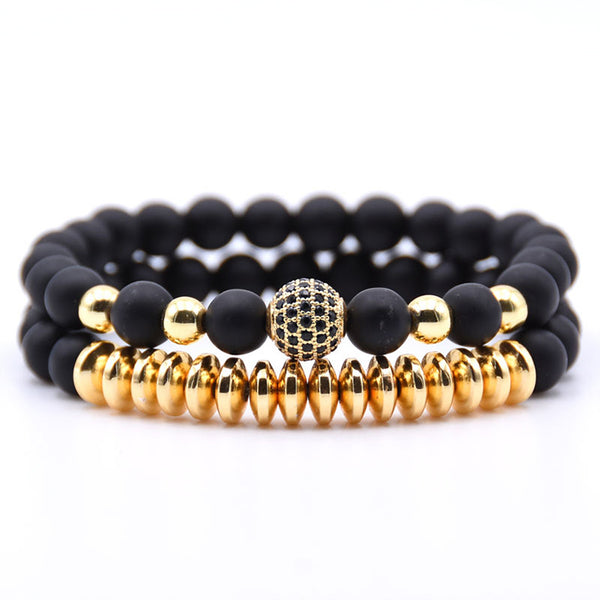 Bracelet Set Golden Stream