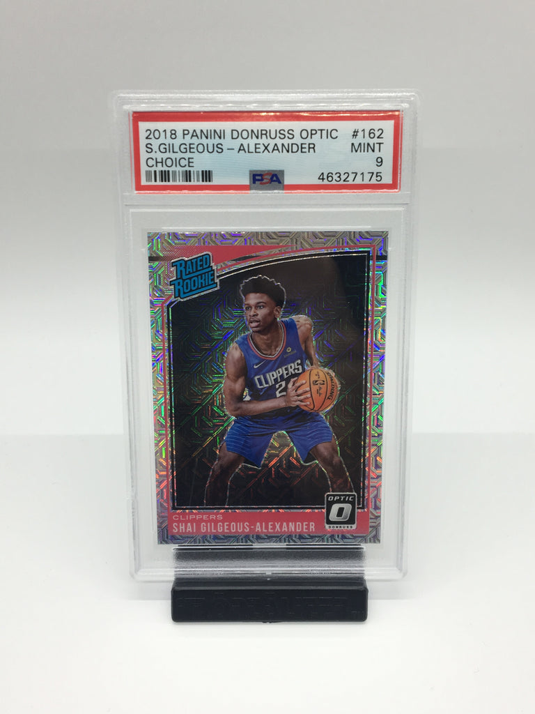 2018 Optic Shai Gilgeous-Alexander Choice #162 PSA 9