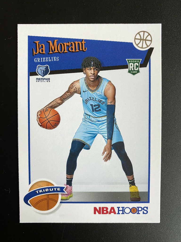 2019 Panini Hoops Ja Morant Tribute #297