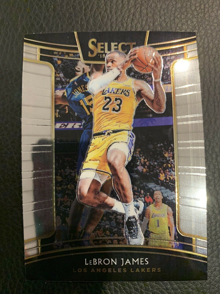 2018 Panini Select Lebron James Concourse #11