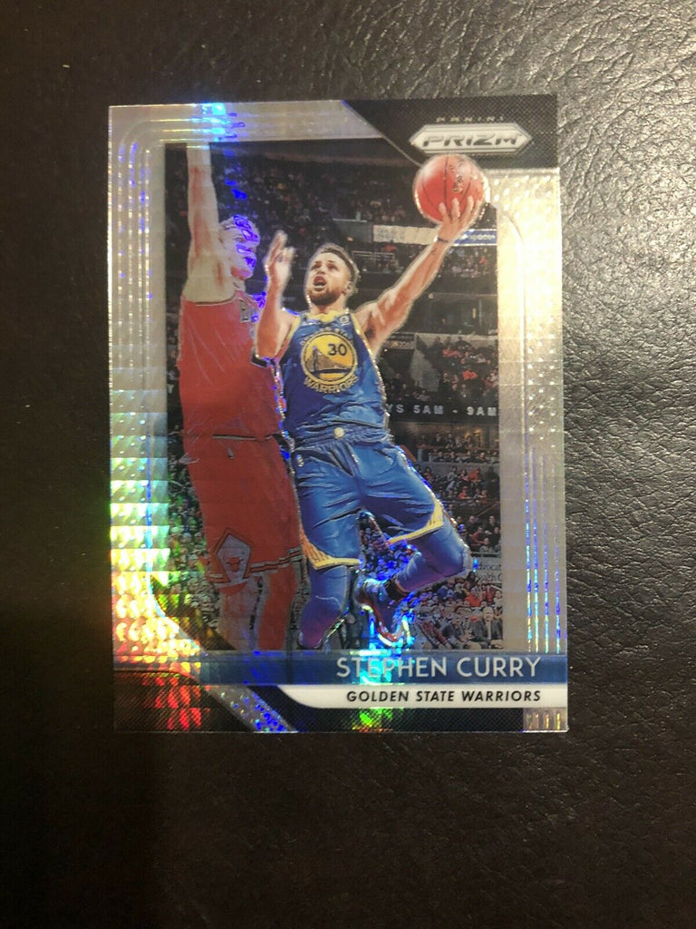 2018 Panini Prizm Stephen Curry Hyper #222