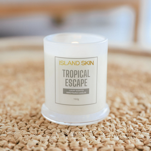 TROPICAL ESCAPE - LUXURY SCENTED CANDLE