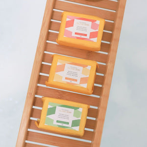 MOISTURISING VEGAN SOAP - 3 PACK