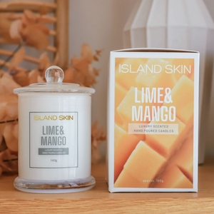 LIME & MANGO - LUXURY SCENTED CANDLE