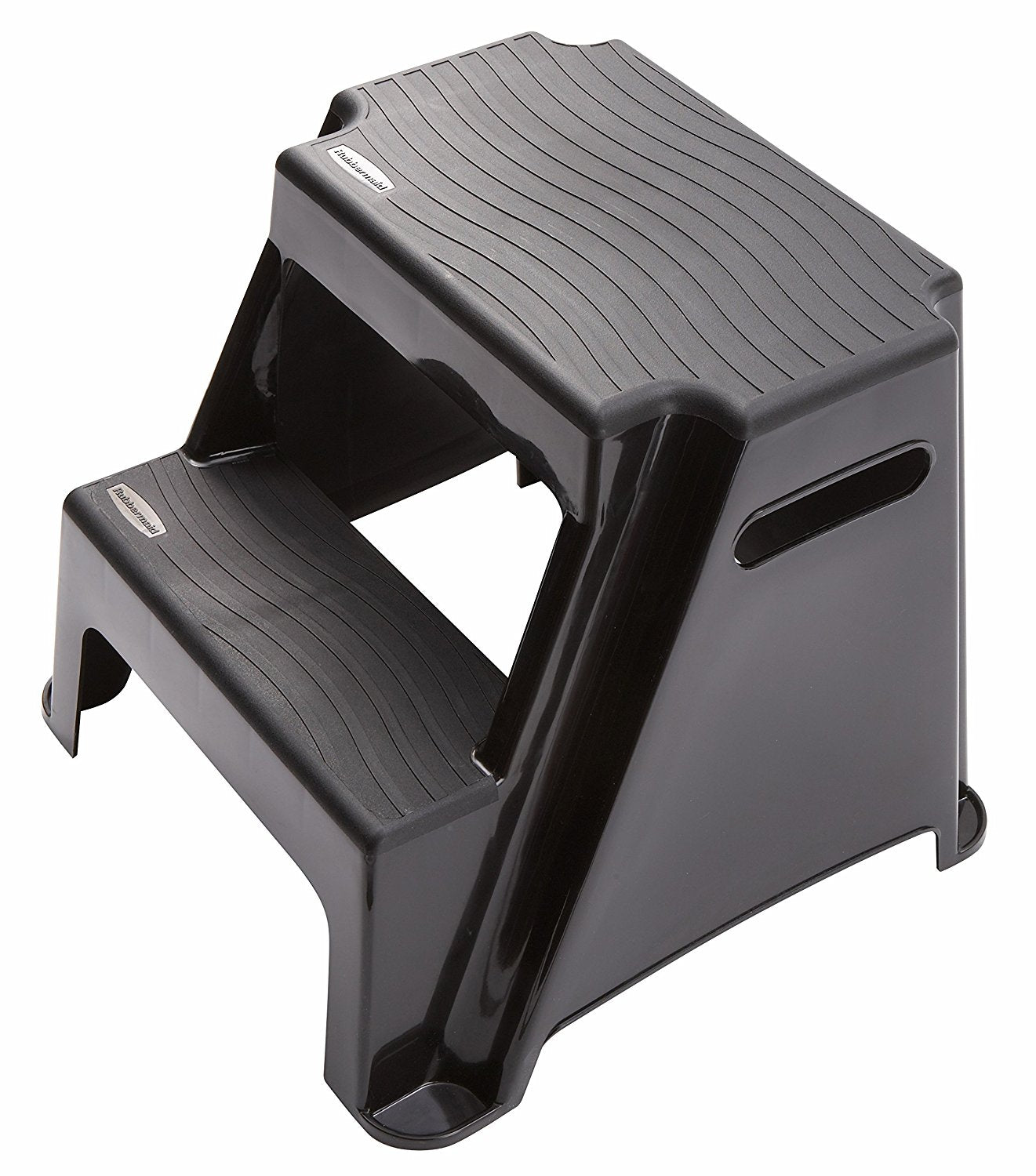 Groovy Rubbermaid Rm P2 2 Step Molded Plastic Stool Cjindustries Chair Design For Home Cjindustriesco