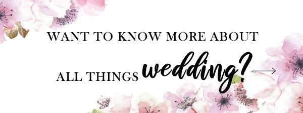 Read on with some more bride and wedding related blog posts.