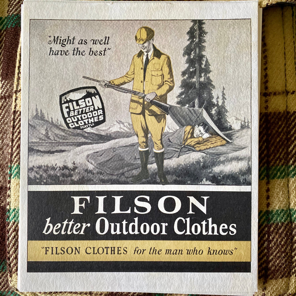 A Guide to Dating Filson Clothing