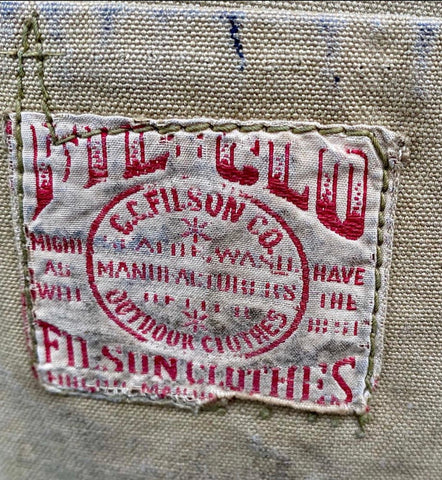 Filson Clothing Tag or FIL CLO for short