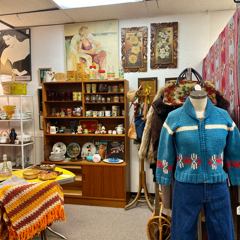 Old Timer's Closet 2:  Eclectic Boogaloo at the Fremont Vintage Mall