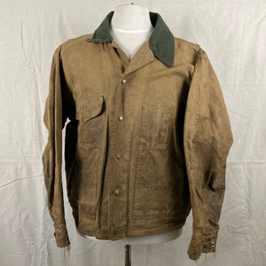 Front View on Filson Tin Cloth Jacket Style 620