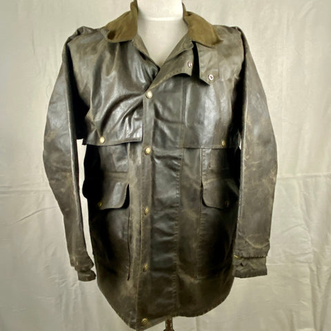 Front View of Vintage Filson Shelter Cloth Packer Jacket