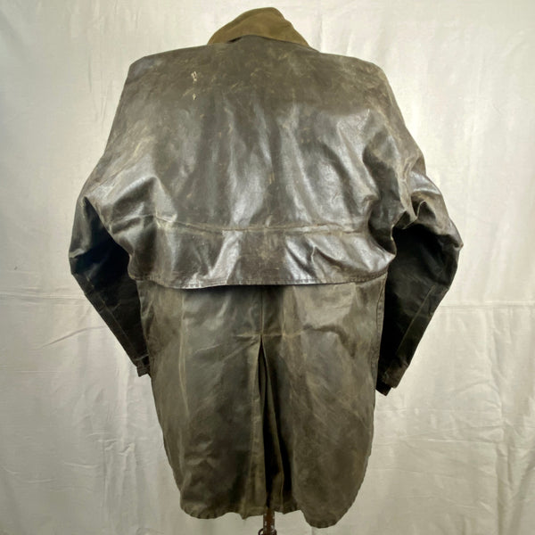Rear View of Vintage Filson Shelter Cloth Packer Jacket