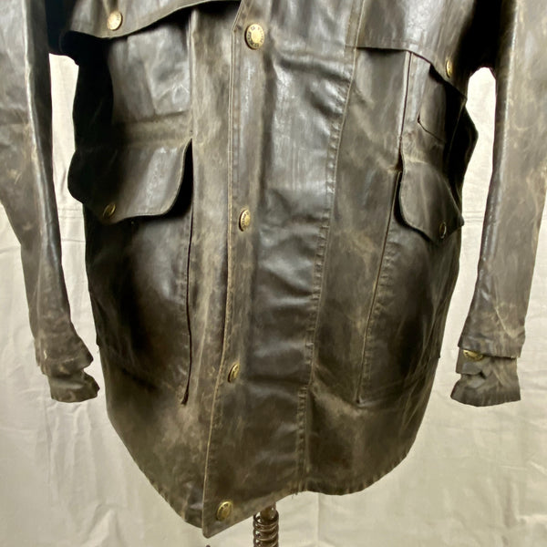 Lower Chest View of Vintage Filson Shelter Cloth Packer Jacket