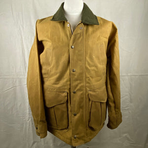 Front View of Filson Tin Cloth Field Jacket NWOT Size M