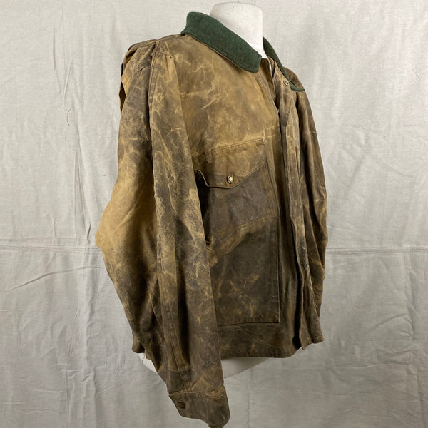 Right View of Vintage Filson Tin Cloth Jacket Style 623N