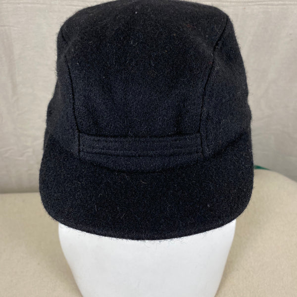 Additional Front View of Black Filson Mackinaw Wool Hat Size M