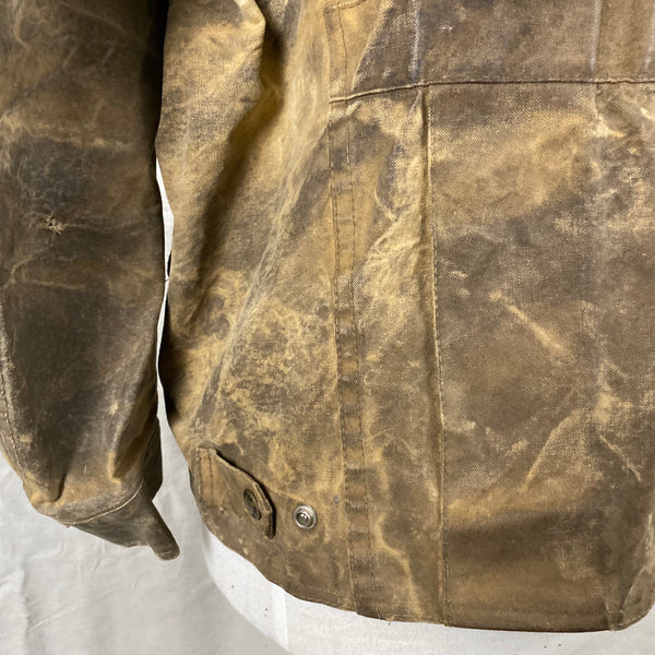 Alternate Lower Left View of Vintage Filson Tin Cloth Jacket Style 623N