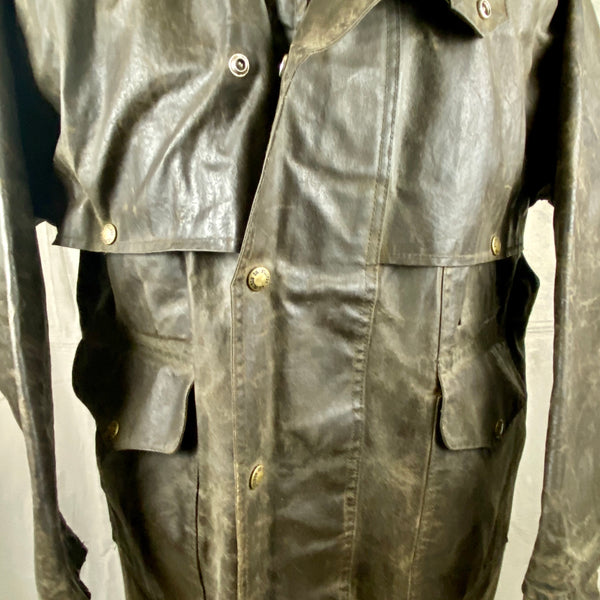 Chest View of Vintage Filson Shelter Cloth Packer Jacket