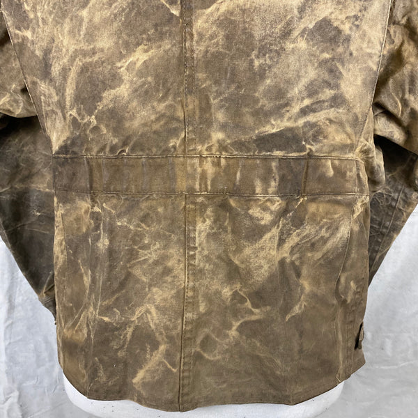 Lower Rear View of Vintage Filson Tin Cloth Jacket Style 623N