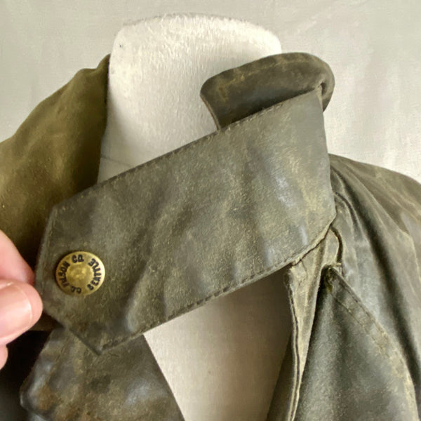 Chinstrap View on Vintage Filson Shelter Cloth Packer Jacket