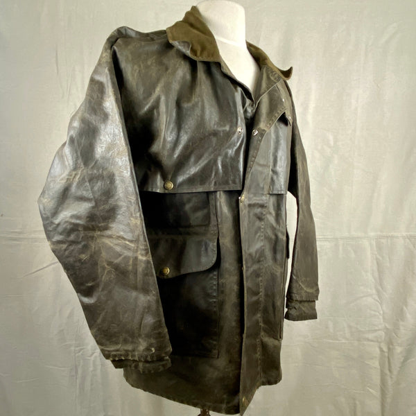 Right View of Vintage Filson Shelter Cloth Packer Jacket