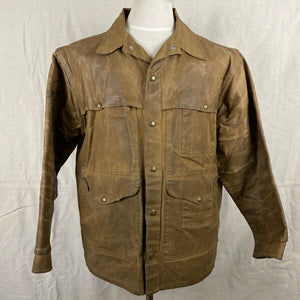 Front View of Vintage Filson Tin Cloth Cruiser