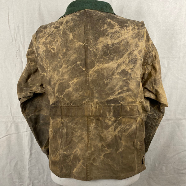 Rear View of Vintage Filson Tin Cloth Jacket Style 623N