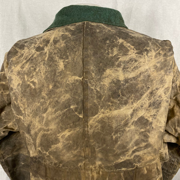 Upper Rear View of Vintage Filson Tin Cloth Jacket Style 623N