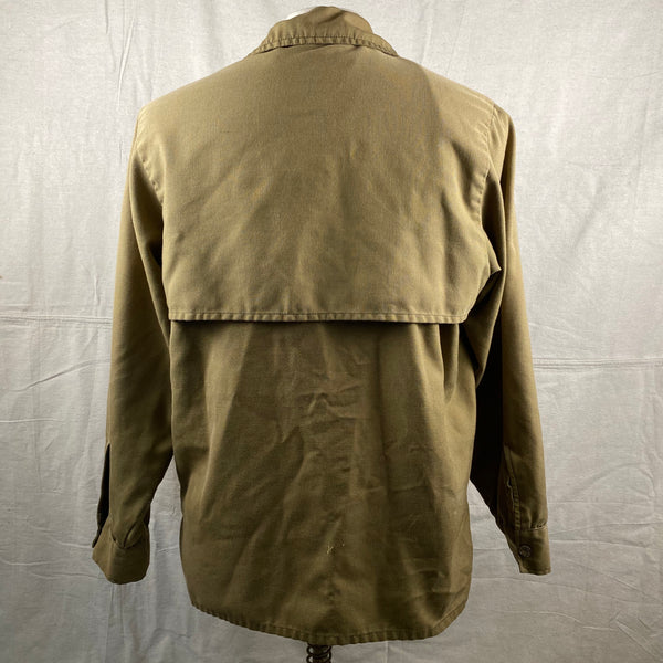 Rear View of Vintage Filson Dry Finish Tin Cloth Cruiser
