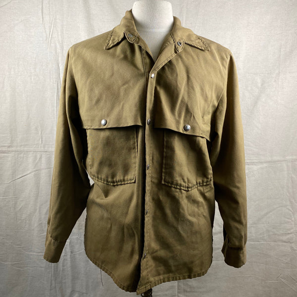 Front View of Vintage Filson Dry Finish Tin Cloth Cruiser