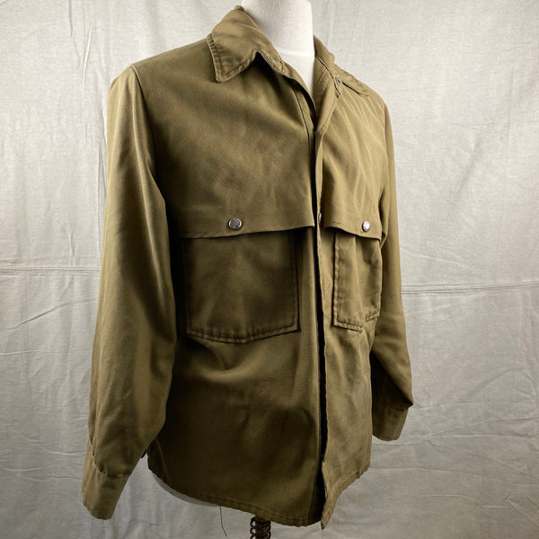 Right Angle View of Vintage Filson Dry Finish Tin Cloth Cruiser