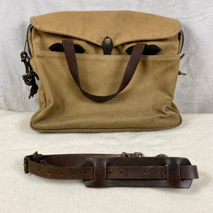 Filson Original Rugged Twill Tan Briefcase 256