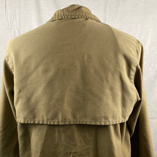 Upper Rear View of Vintage Filson Dry Finish Tin Cloth Cruiser