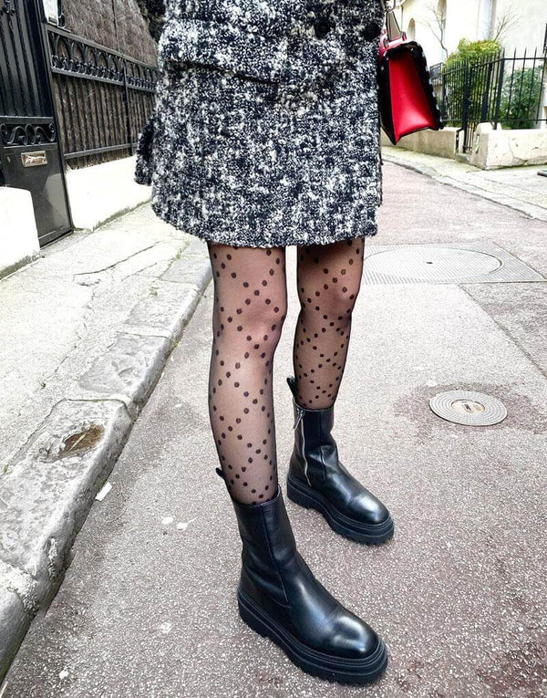 damier de rêve - collants à pois