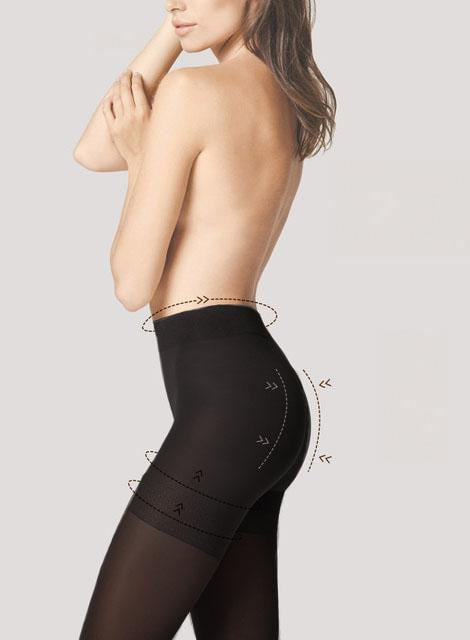 Lot de 2 collants basique - Opaque et transparent