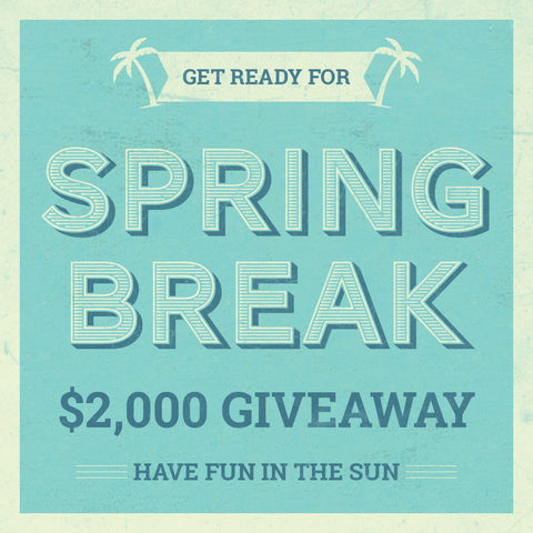 Spring Break Giveaway