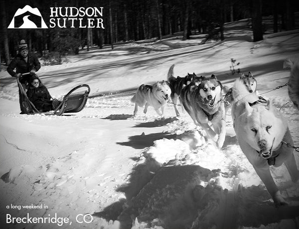 Hudson Sutler on a long Weekend in Breckenridge, CO