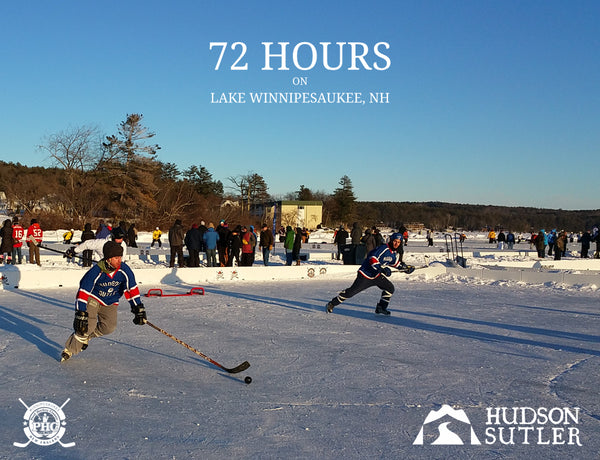 Hudson Sutler 72 Hour Pond Hockey Classic