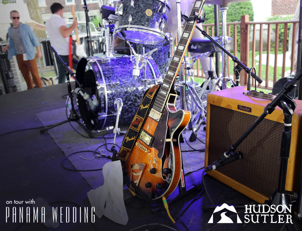 Hudson Sutler on Tour with Panama Wedding