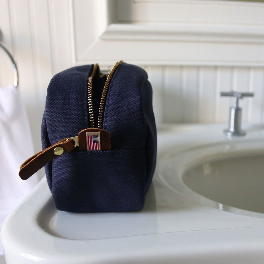 Heritage Shave Kit - Midnight Navy - Hudson Sutler - Made in USA