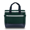 Medium Canvas Cooler Bag- Hunter Green/Navy